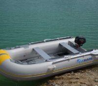 Tender ViaMare 330 S ALU Paiolato Alluminio Carpfishing Spinning Mare Lago -- Spedizione Gratuita