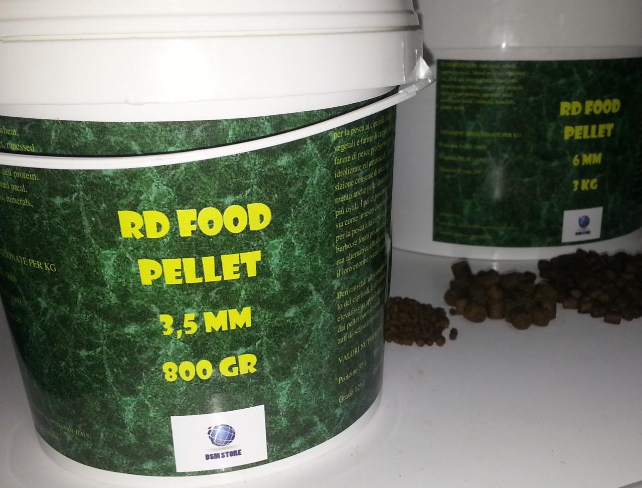 RD Food Pellet carpfishing e feeder