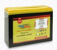Aquaparx Batteria 12V 40Ah Scarica Lenta per Motori Elettrici - Spedizione Gratuita!
