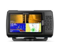 Garmin Striker Plus 7SV FishFinder Ecoscandaglio GPS Batimetrico -- Spedizione Gratuita