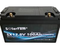 Batteria Litio Scarica Lenta Solmax 12V 100Ah - Spedizione Gratuita