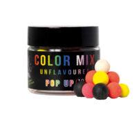 Over Carp Baits Boilies Pop Up Mix Color Unflavoured 10 mm
