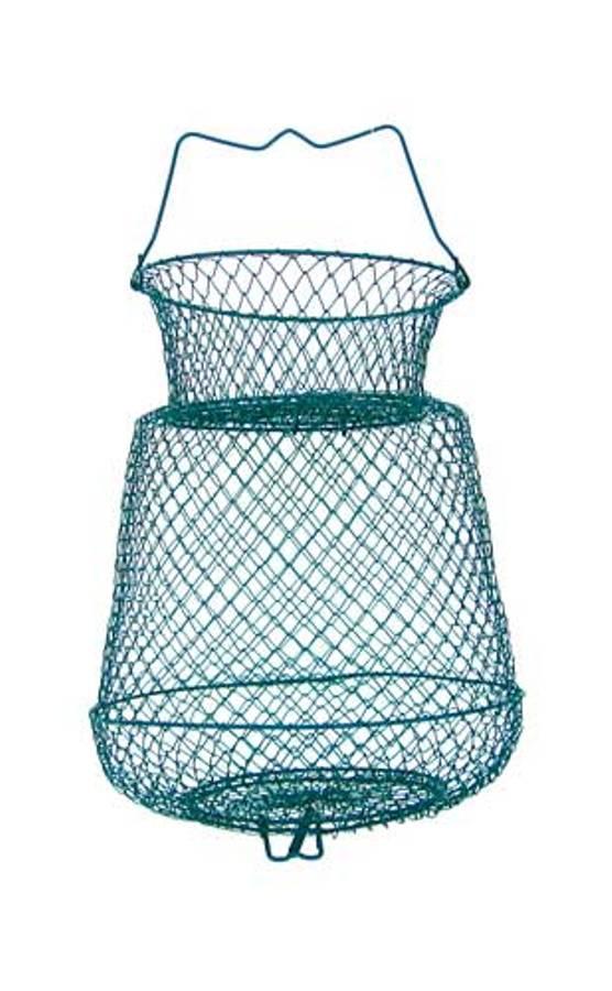 Cestello PortaPesci Tondo Metallo Pesca Tocco Ledgering Passata Roubasienne