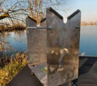 RollyCarp Supporto Estrusore Pneumatico Boilies Gun Serie Metal CarpFishing Self Made