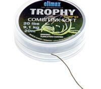 Trecciato per Terminali Climax Trophy Combi Link Soft 20 Lb 20 Mt