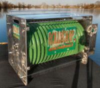 Rolly Carp Serie Metal Custom Black Motorizzata e Manuale Boilies Machine -- Spedizione Gratuita